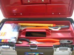 工具箱整理 アフター上段