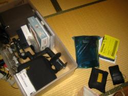 PC・カメラ類収納 整理