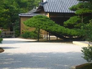 金閣寺 敷地 お庭
