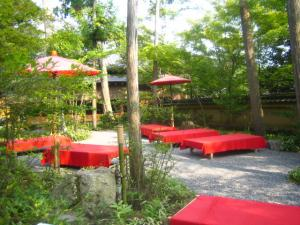 金閣寺 敷地 茶店
