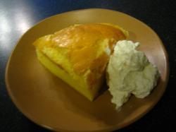 シフォンケーキ作り 完成