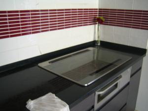 キッチンカウンター 掃除1