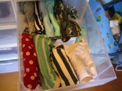 娘の衣類整理 Tシャツ