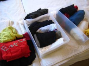 衣類整理 Tシャツ類
