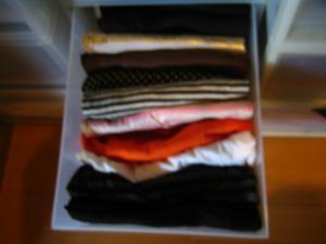 衣類整理 タンクトップ アフター