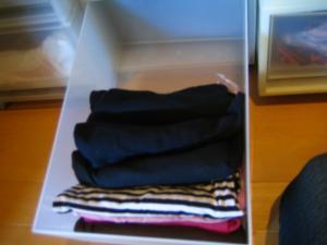 衣類整理 キャミ アフター