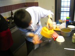 BBQ 2013.9 エミリパパ シフォンケーキ