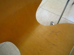 椅子の汚れ