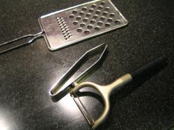 調理道具磨き