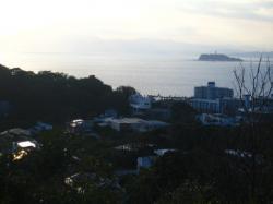 披露山からの眺め