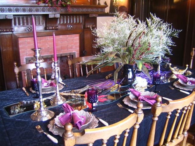 西洋館 ハロウィン テーブルコーディネート7