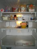冷蔵庫内 空