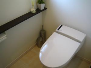 トイレ ノズル直し 完了