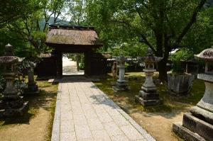 吉香神社 神門