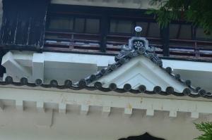 岩国城の紋瓦