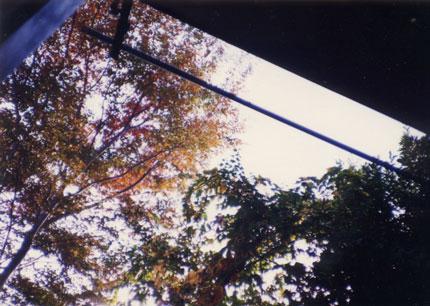 アパートの窓の外Window of the Susumus room(800)-4 430