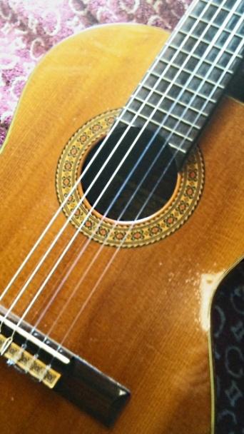 【写真で散歩】ギターでリラックス! ヤイリのアルトギター