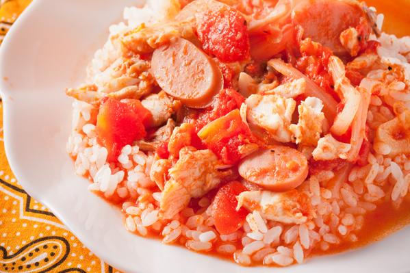 鯛のトマトスープかけごはん