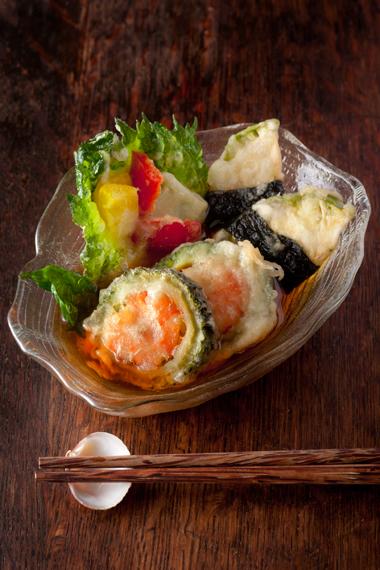 夏野菜天ぷら2