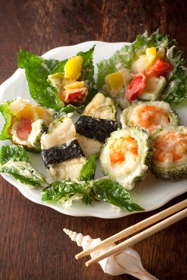 夏野菜天ぷら1