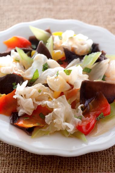 キクラゲサラダ