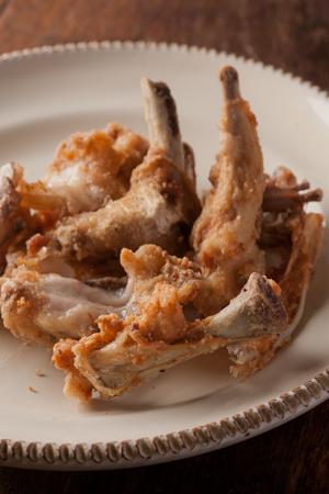 鶏ガラの唐揚げ2