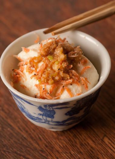 ネギ味噌豆腐