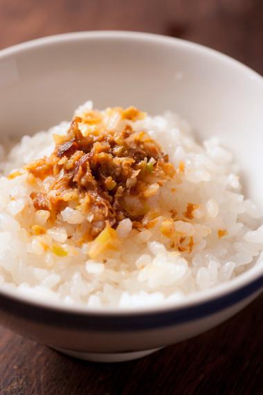 ネギ味噌飯