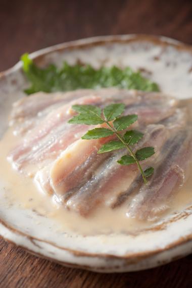 シコイワシ酢味噌