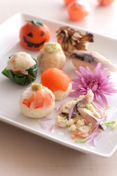 ハロウィンおから寿司