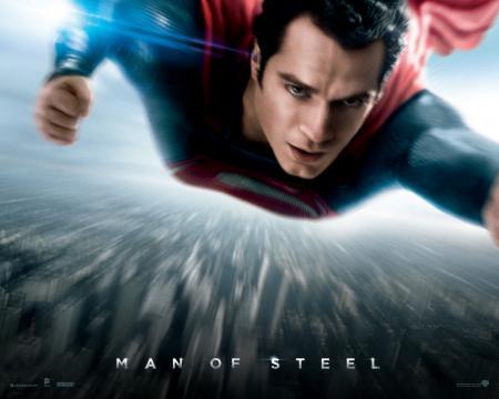 スーパーマン、速い!