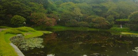 少しずつ秋を感じる皇居東御苑