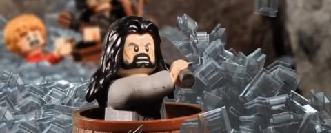 「ホビット スマウグの荒らし場」の予告編をレゴで