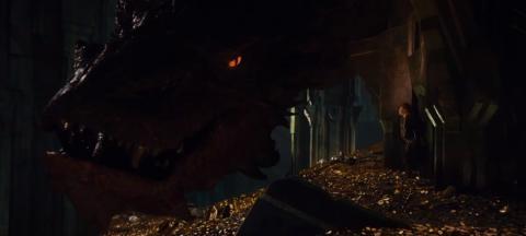 ホビット、ついに邪竜スマウグの元へ