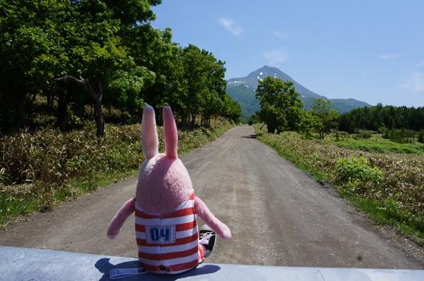 カムイワッカ方向を見るキレ