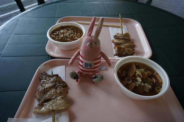 豚串&豚汁