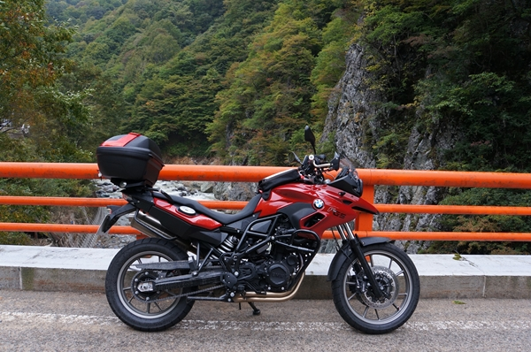 秋山郷の橋