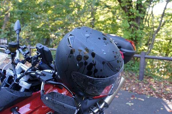ヘルメットも・・。