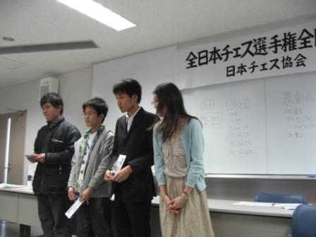 GO表彰式(Bクラス)