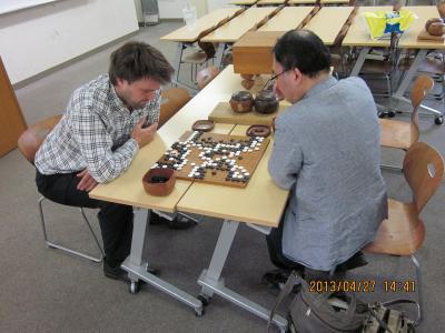 427 nielsenさんと囲碁