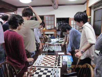 合同合宿2013 リレーチェス1