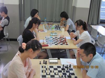 夏季交流戦 第3ラウンド 女子テーブル(笑)