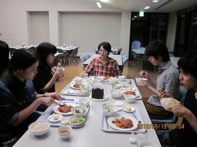 SCC合宿 晩ご飯2