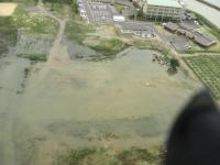 6月22日 池ランディング空撮
