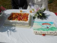 11月4日 ウェディングケーキ