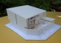愛島の家ラフ模型