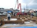 福島の家基礎打設