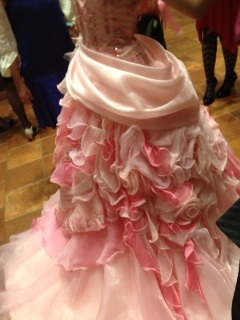 新婦ドレス