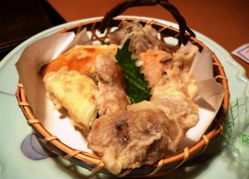 松茸天ぷら