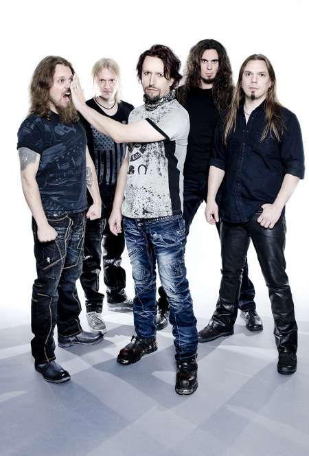 Sonata Arctica Promo 2013-2014 Terhi Ylimäinen